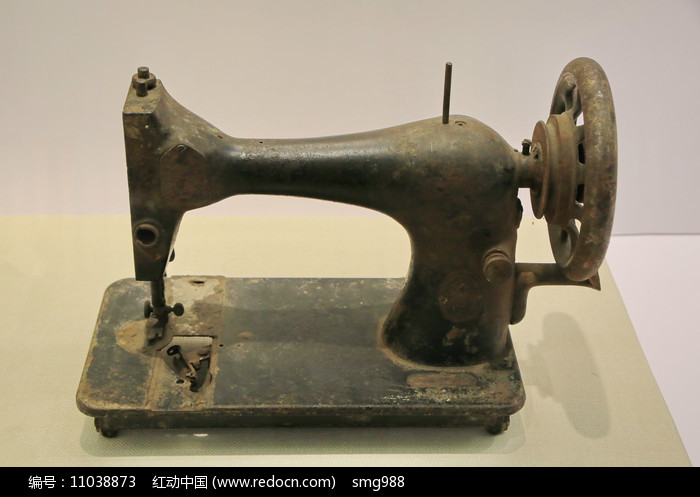 老物件缝纫机图片