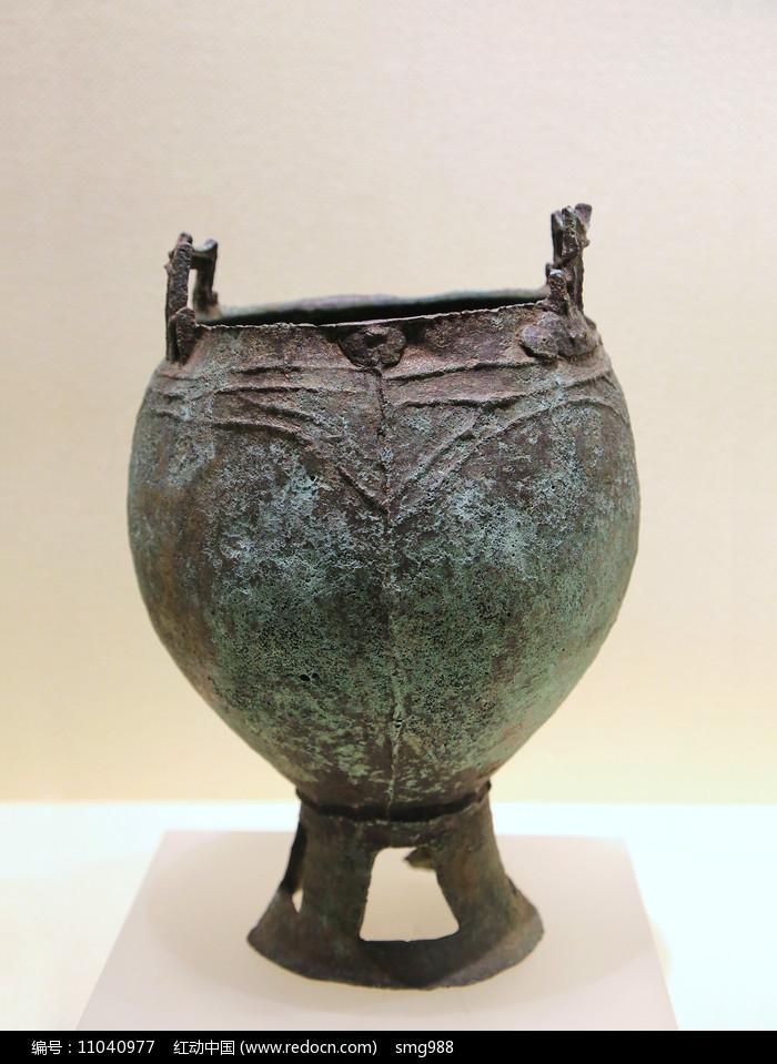 铜鍑铜罐汉代图片