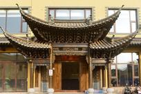 云南建水古城-中式门楼