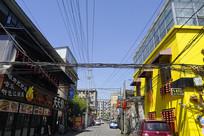 成都龙泉驿-新驿村休闲美食街