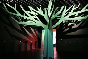 大树树枝造型