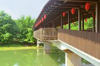 成都西来古镇-临溪河来安廊桥