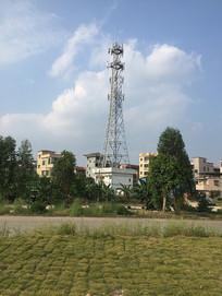 茶坑村电力塔