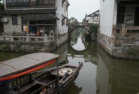 枫泾古镇拱桥