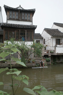枫泾古镇民居