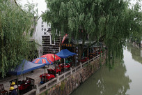 江南河边茶肆