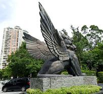 狮子景观雕塑