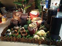 陶瓷装饰瓦罐