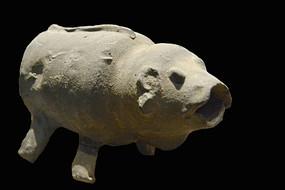五胡十六国时期成汉板楯蛮陶猪