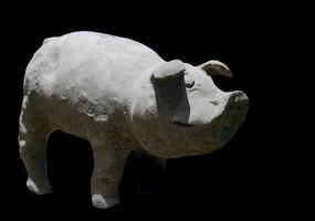 五胡十六国时期成汉賨人陶猪