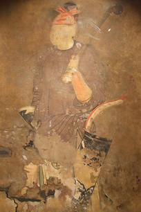公主墓壁画人物