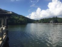 新会玉湖公园美景