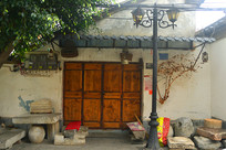 云南建水古城老街传统宅院