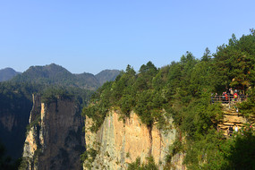 张家界国家森林公园观景台