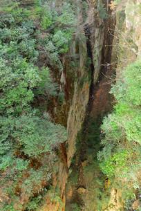 张家界国家森林公园 峡谷绝壁
