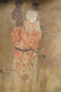 贞孝公主墓壁画