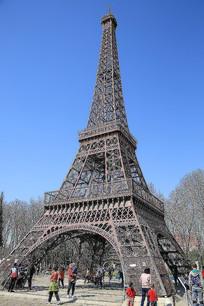 埃菲尔铁塔微缩景观