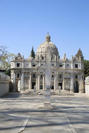 古罗马建筑微缩景观