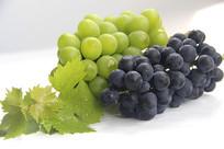 绿葡萄静物图