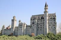 欧洲城堡大教堂微缩景观