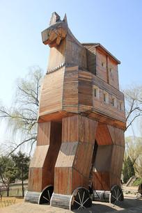 世界公园特洛伊木马