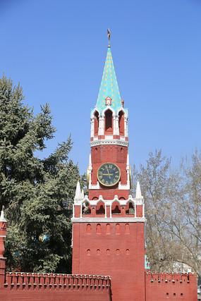 俄罗斯建筑微缩景观