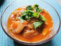 番茄肥牛虾仁