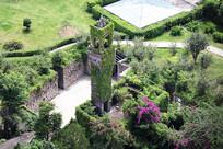 花园俯视图