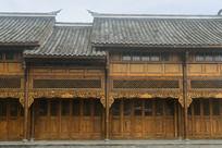 成都元通古镇中式楼房