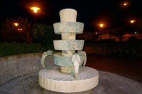 德国哈默尔恩城市广场雕塑