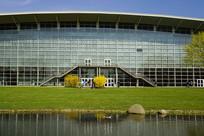 德国汉诺威展览中心水池