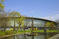 汉诺威国际展览中心园林水景