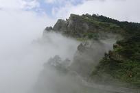 湖北神龙架景区山脉