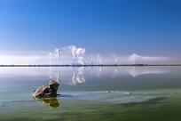 唯美盐湖-金蟾聚财图片