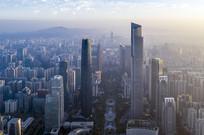 鸟瞰广州新中轴线