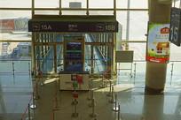 青岛流亭国际机场登机口俯拍