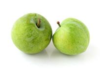 绿色水果巫山脆李白背景
