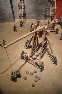 抛石器砲模型宋代