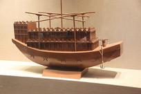 宋代木船模型