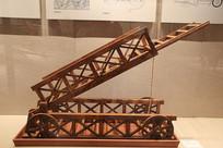 折叠桥车模型宋代