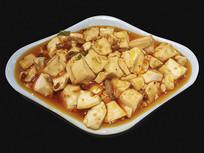 一盘麻婆豆腐