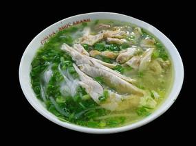 一碗鲜香的越南鸡肉米粉
