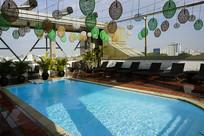 越南胡志明市酒店的露天游泳池