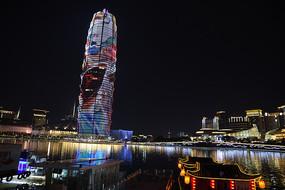 郑州标志建筑千禧广场(大玉米)