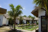 越南度假村餐厅的VIP包间