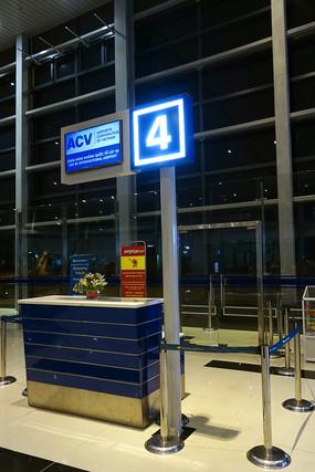 越南海防吉碑国际机场登机口