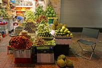 越南胡志明市的水果店