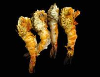 越南特色湄公河河虾烤虾素材