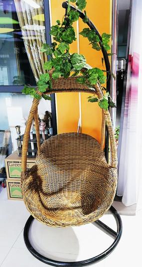 编织吊篮小家具