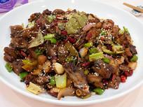 美味菜品麻辣鸡